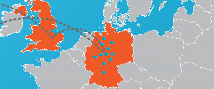 Map Of England Germany.Bioportusa Ceo To Visit Germany And England Bioportusa